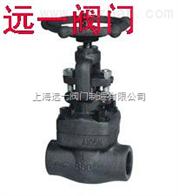 J61W/H/Y-800LB承插焊锻钢截止阀