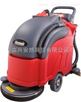 克力威电瓶式洗地机XD18W 手推式洗地机价格