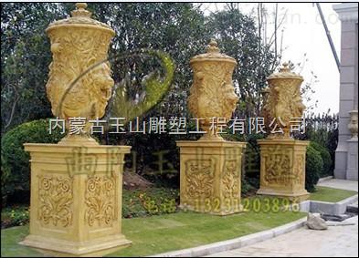 包头欧式喷泉雕塑_公共环卫设施