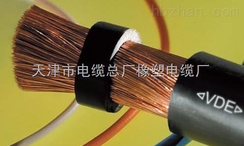 用于电焊机二次侧接线及连接电焊钳,电焊机的专用电缆,其特性是电阻大