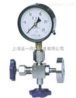 J19W-16/25/40/64/100/160/250/320C/P/R压力表三通针型阀