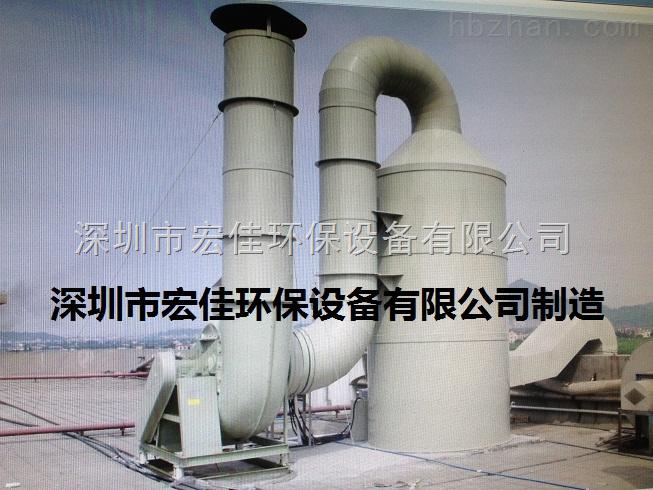 废气吸附塔工程案例