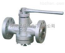 X47X/X347W美標壓力平衡式倒裝油密封旋塞閥