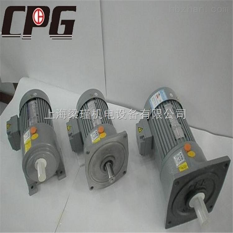 精密晟邦齿轮减速机-CPG晟邦减速电机生产