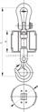 吊秤无线打印电子吊秤生产制造业计量工业吊秤10T