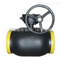 Q361F蜗轮缩径全焊接球阀