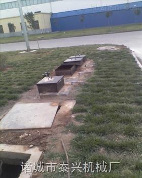 泰兴地埋式一体化污水处理设备