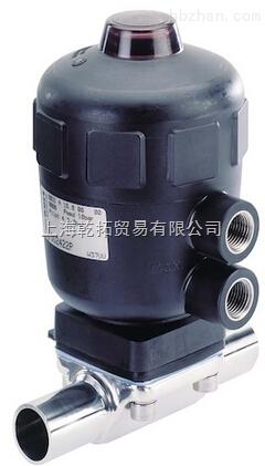 BURKERT两位两通气动不锈钢卫生隔膜阀00138543-00141608