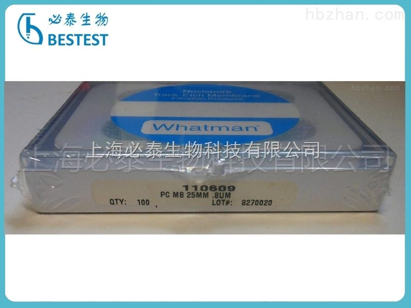 whatman径迹蚀刻膜聚碳酸酯膜PC膜直径25mm孔径0.8um