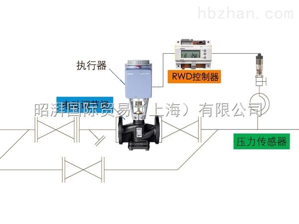 西门子电动减压阀VVF42.25-10C+SAX61.03+QBE9001-P16+RWD60