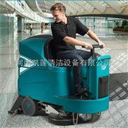 生产车间驾驶式电瓶洗地机