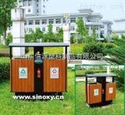 市政小区用钢木分类垃圾桶生产厂家价格