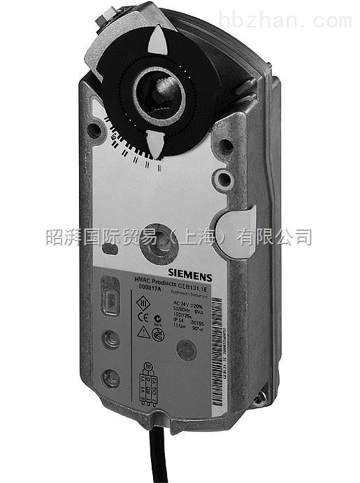 供应深圳西门子GEB136.1E 风阀执行器