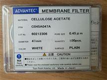 东洋ADVANTEC醋酸纤维素滤膜0.45um孔径C045A047A