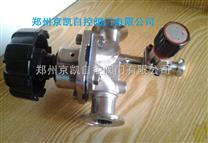 G81F不鏽鋼衛生級隔膜閥帶取樣閥