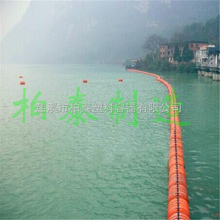 批发水上夹光缆浮筒两边片管道浮筒
