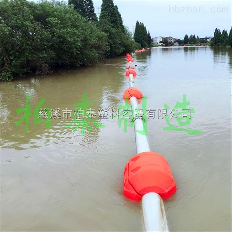广东城市内河抽淤管道浮体