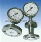 螺纹式衬四氟隔膜压力表Y-60B/100B/150B-(ML8)