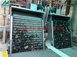 旋转耙齿格栅除污机/回转式机械涝渣机