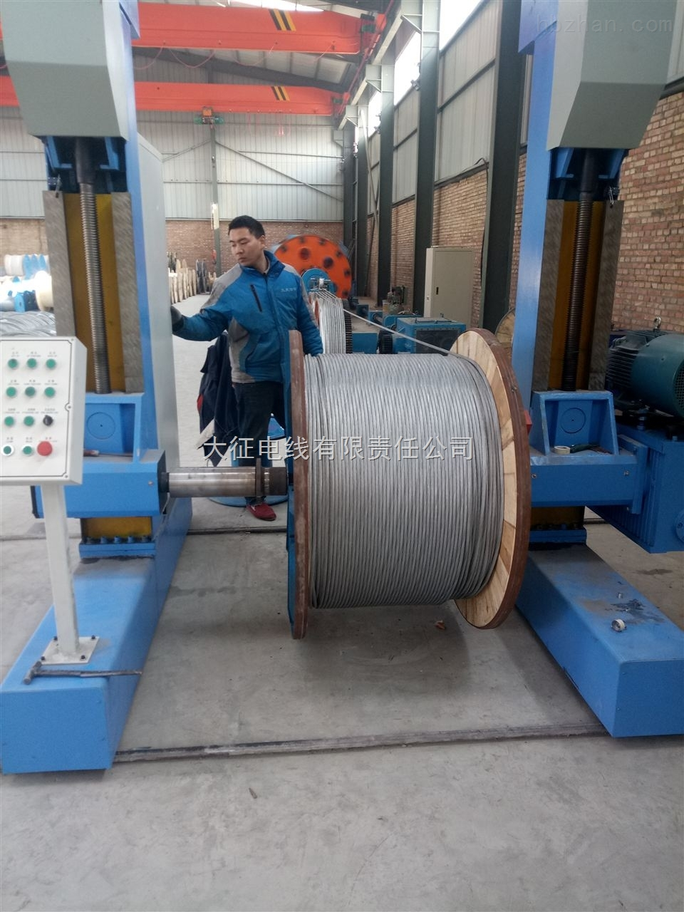 JLB70平方鋁包鋼地線價格