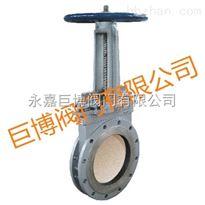 PZ73TC手动耐磨陶瓷刀形排渣闸阀