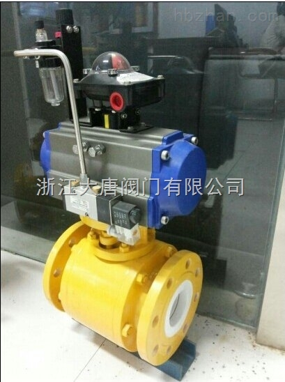 气动陶瓷球阀Q641TC-大唐制造