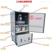 工业磨床吸尘器/废屑集尘机/柜式吸尘器价格