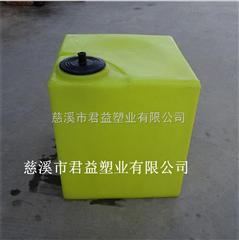 供应水处理40升方形PE加药箱价格