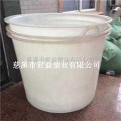 供应塑料圆桶 pe无毒圆形塑料周转桶
