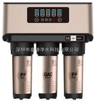 A8款廚下純水機 大流量400G無壓力桶淨水器 五級過濾 出水直飲