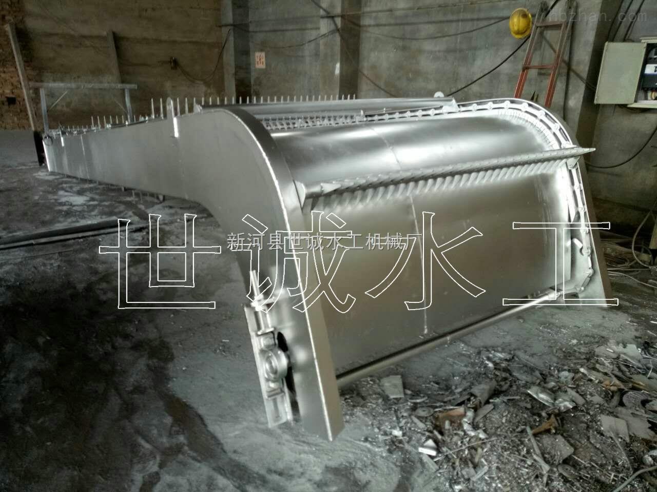 HX-GS-雨水泵站回转式格栅清污机不锈钢格栅清污机