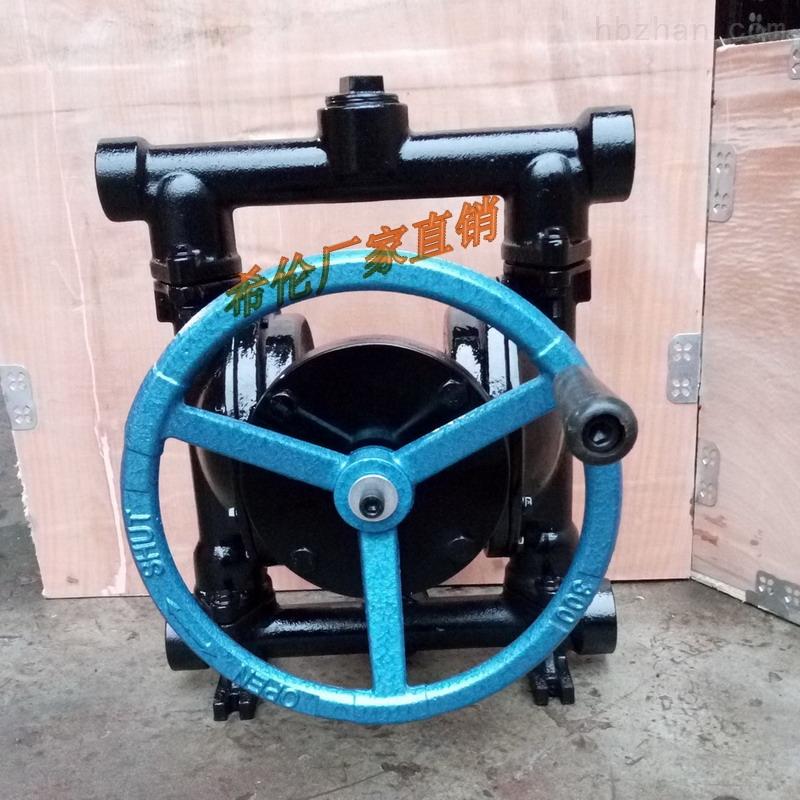 手摇式隔膜泵 手动隔膜泵 地下室紧急排水泵