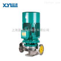 IHG型化工不鏽鋼管道泵