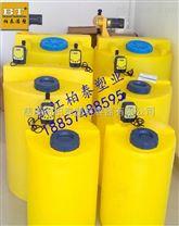 莆田3000L絮凝剂搅拌桶 耐腐蚀加药处理装置