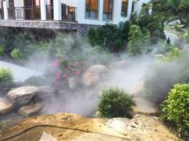 旅游区喷雾景观
