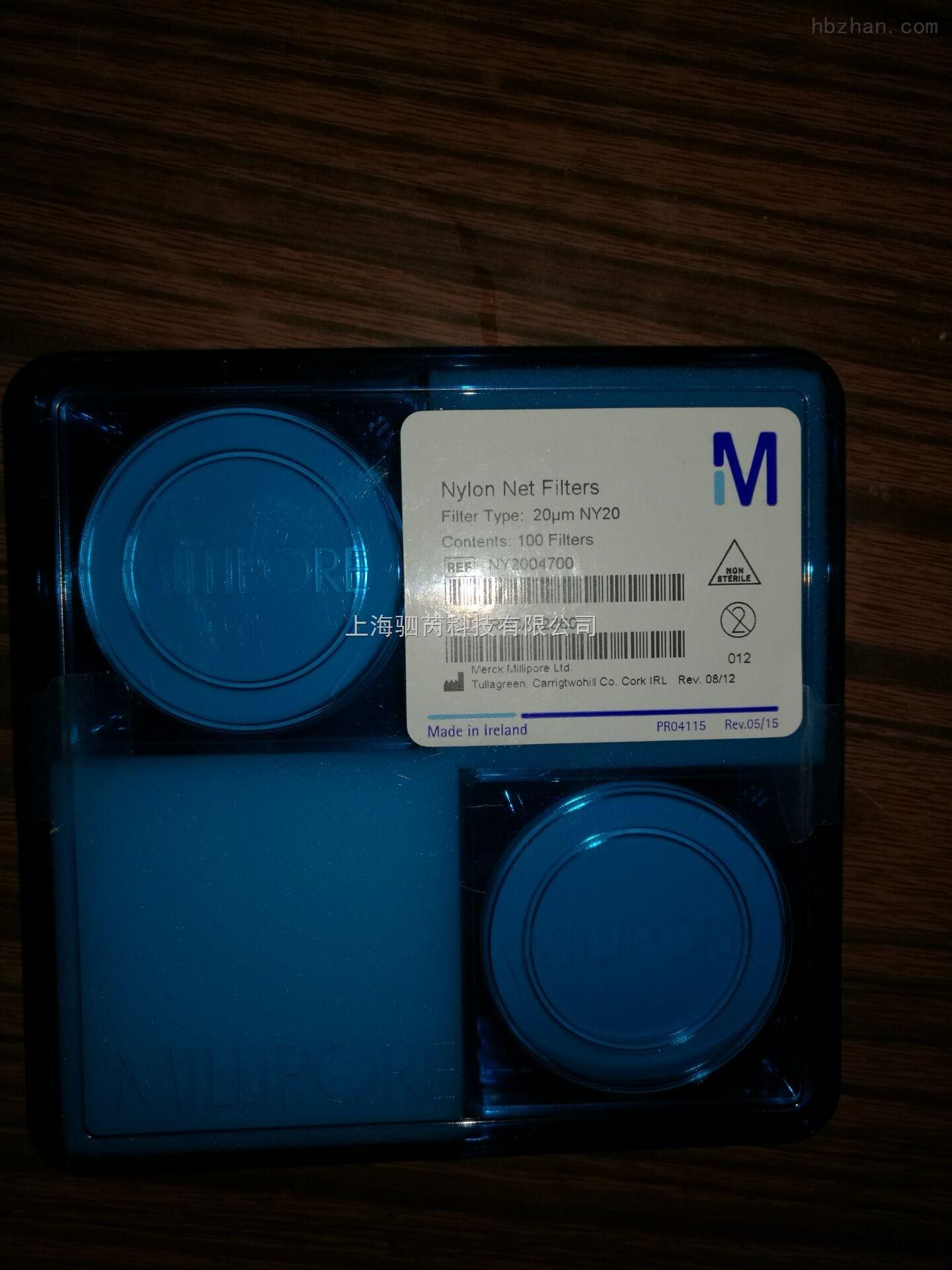 Millipore 尼龙网格膜 20um NY2004700