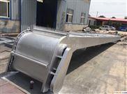 雨水泵站回转式格栅清污机指导安装