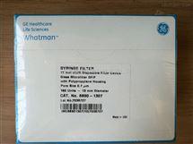 6890-1307WHATMAN非灭菌GD/X针头滤器13mm直径0.7um孔径6890-1307
