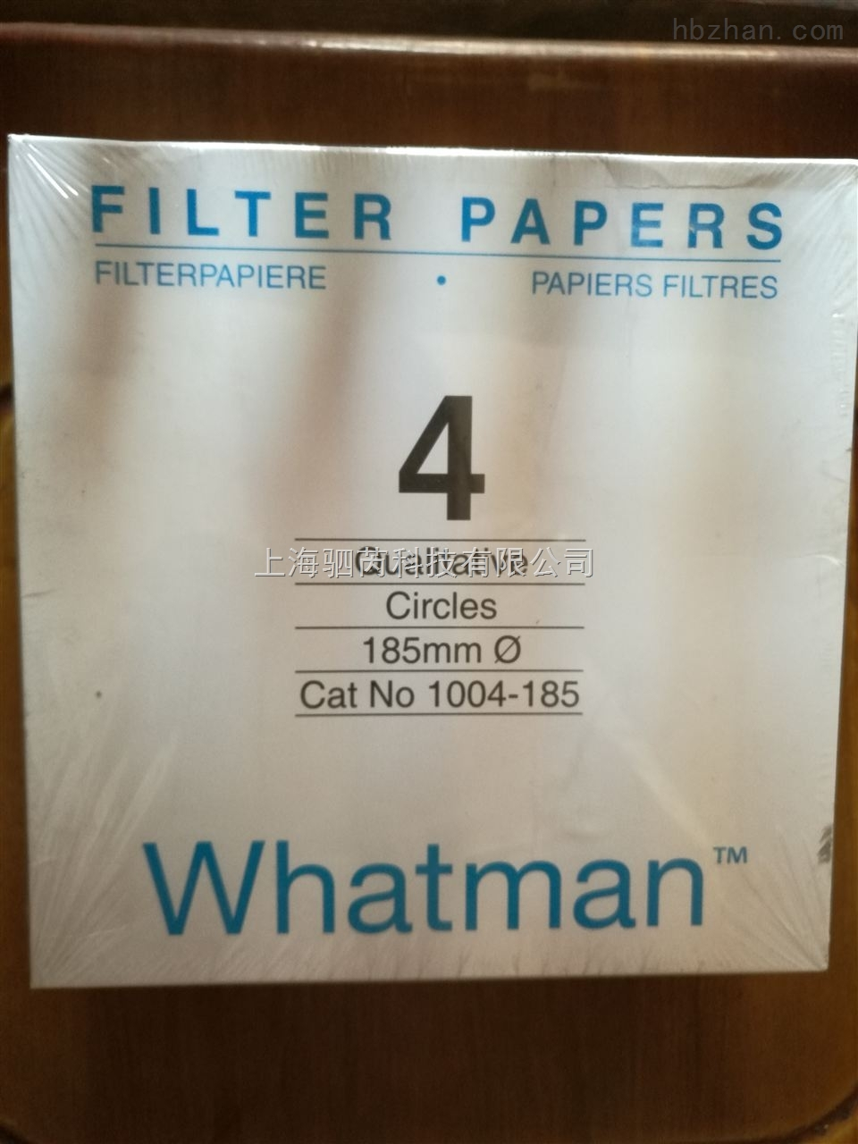whatman快速定性滤纸 1004-185 WHATMAN 4号滤纸