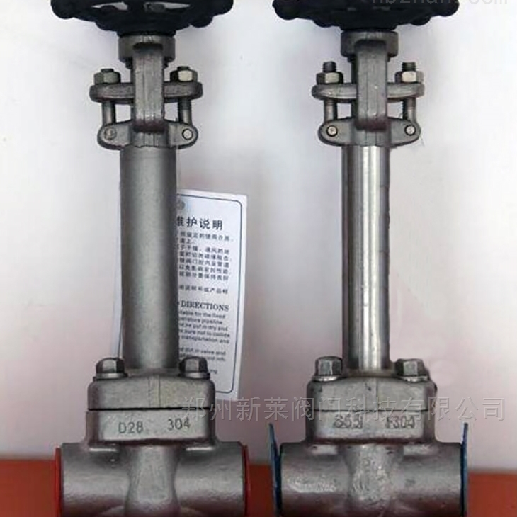 DJ61Y-40P锻钢低温焊接截止阀