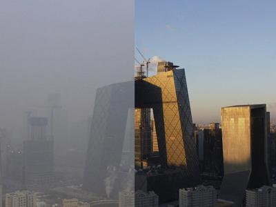 北京空氣監測點大都藏身公園,你那里呢?