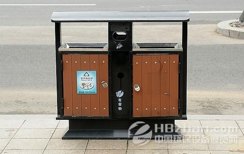 国外创意垃圾桶设计分解图
