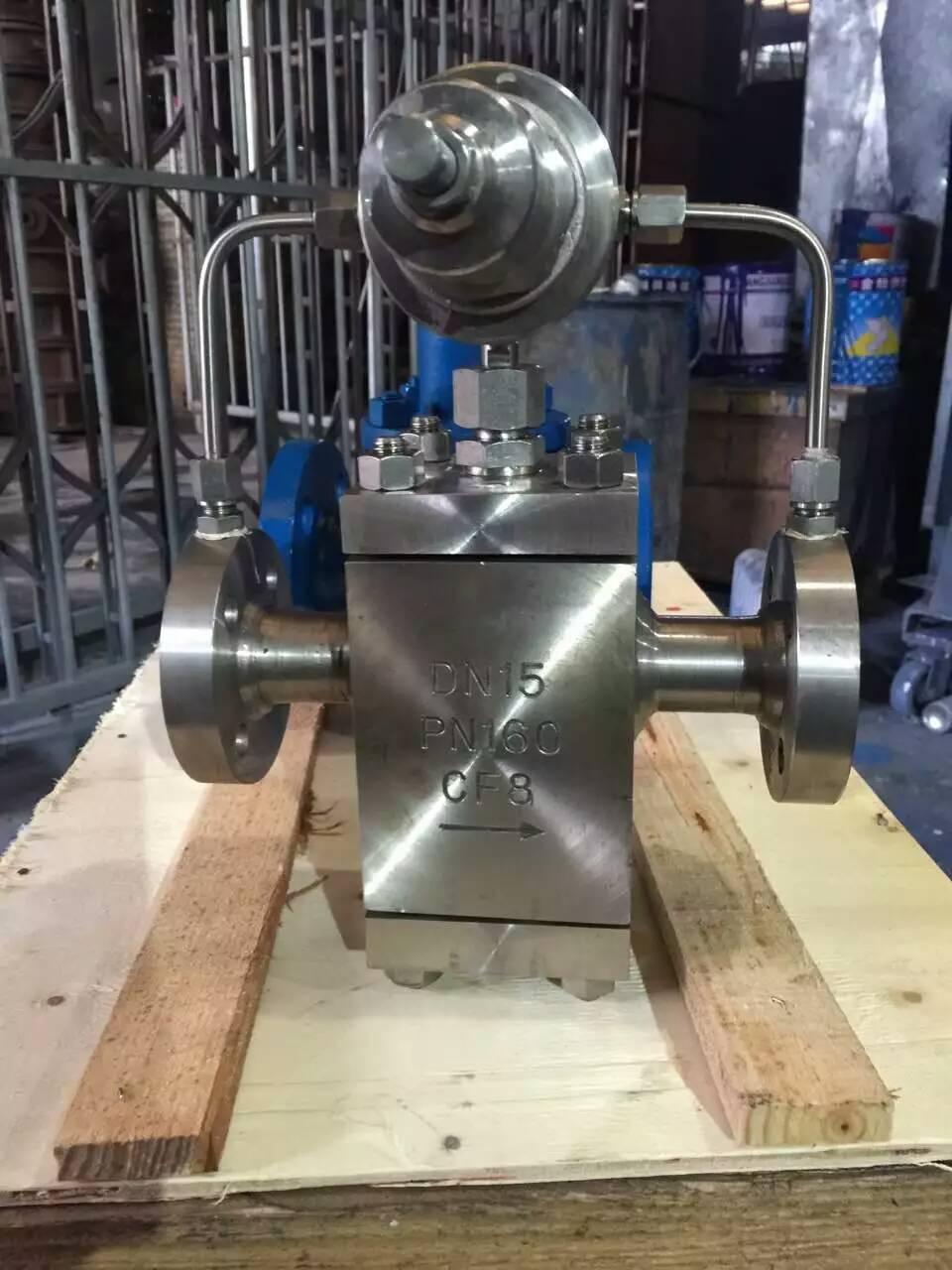 手轮控制液化气减压阀