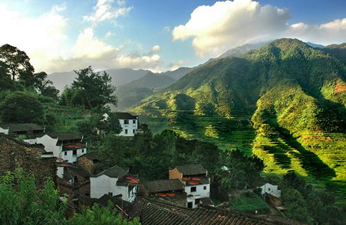 中国最天然的风景农村