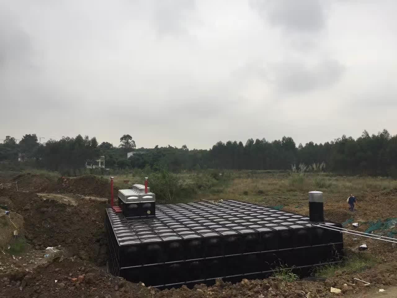 智能型BDF无焊接复合式地埋式箱泵一体化消防设备