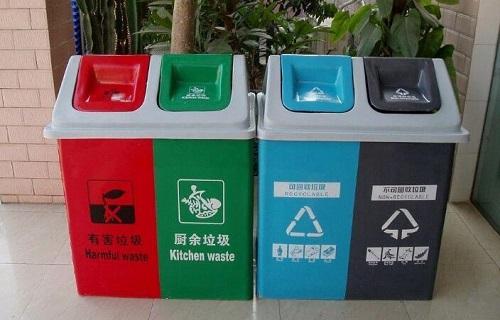 幼儿园手工分类垃圾桶图片大全