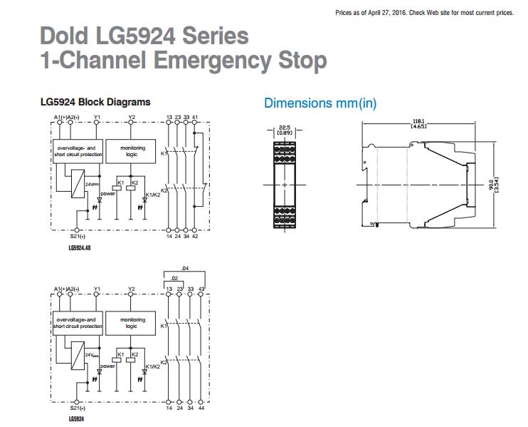 32 ac50/60hz 24v 0,2s-60h dold印刷电路板继电器 ba9053/011 ac2-20