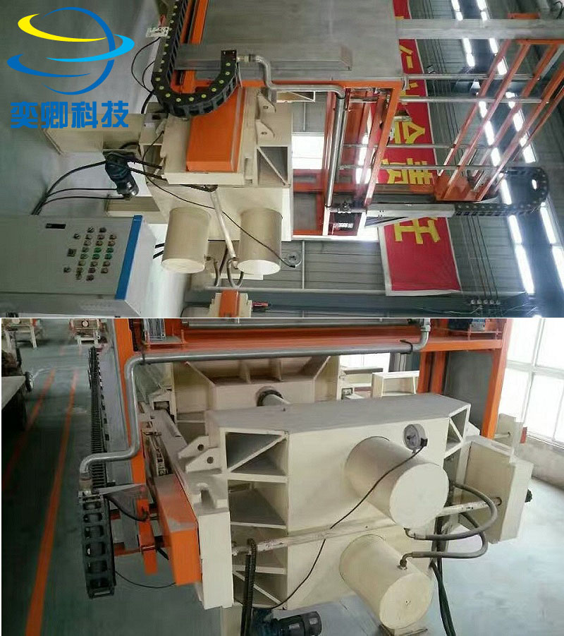 不同型号压滤机的工作流程及安装尺寸
