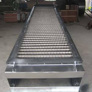 兴平阶梯式机械格栅除污机内部结构