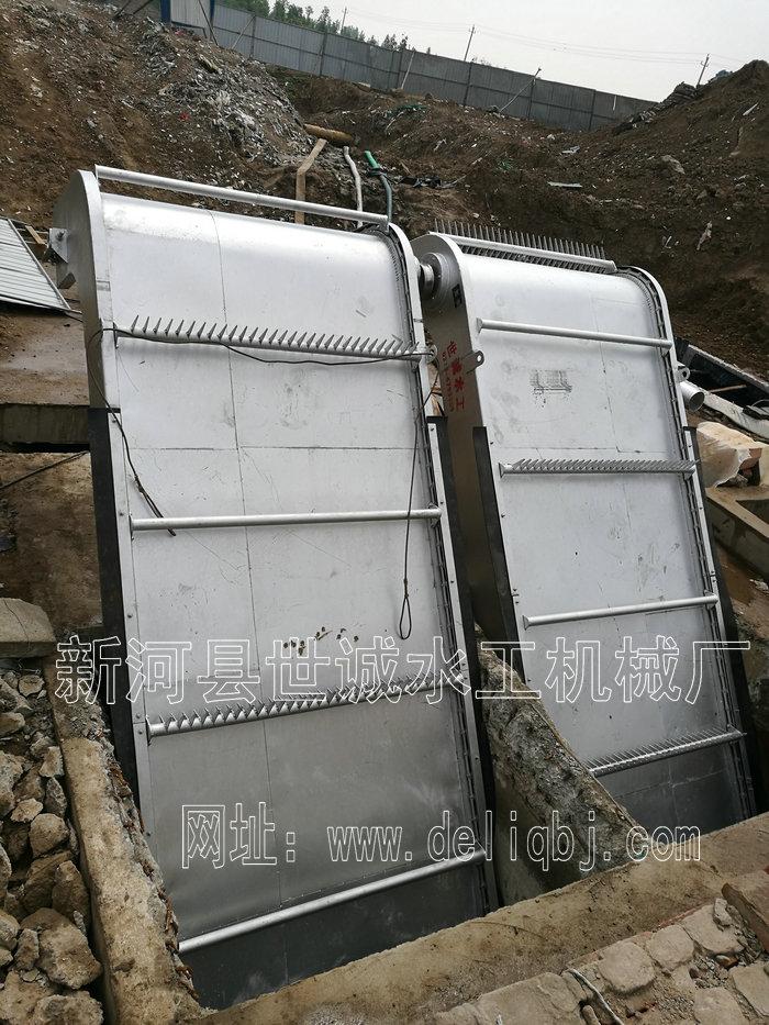 不锈钢回转式格栅清污机